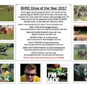 BHRC DRIVE OF THE YEAR 2017
