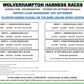 WOLVERHAMPTON – Saturday 29th September