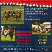 PIKEHALL HARNESS RACING – Sunday 30th June