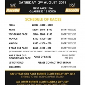CHASE HARNESS RACING @ Cannock – Saturday 3rd August