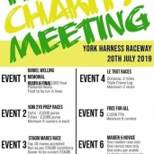 YORK PACT CHARITY MEETING – Saturday 20th July