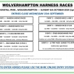 WOLVERHAMPTON HARNESS RACES – Sunday 6th October 2019