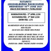 Scottish 2yo Grass Futurity @ Musselburgh Racecourse